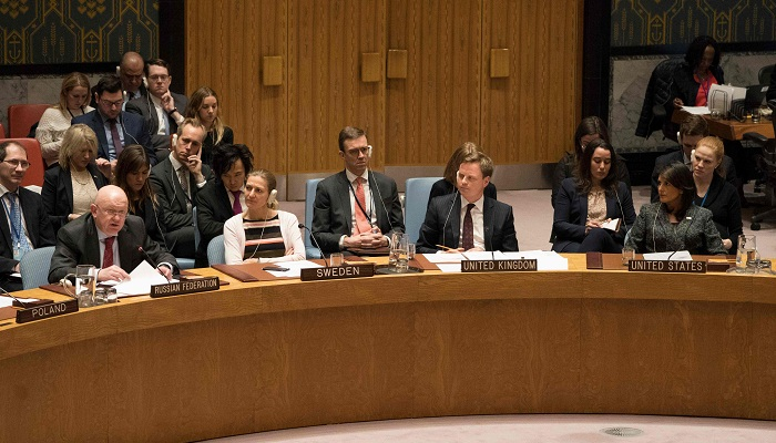 Russia joins UN Security Council to demand Syria ceasefire
