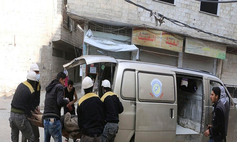 Damascus suburb strikes kill scores, UN votes for cease-fire