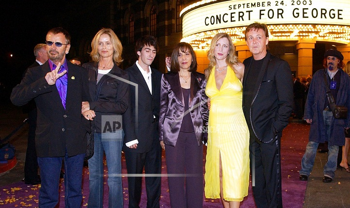 George Harrison remembered by fellow Beatle on 75th birthday