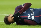 PSG coach 'optimistic' injured Neymar will recover to face Real