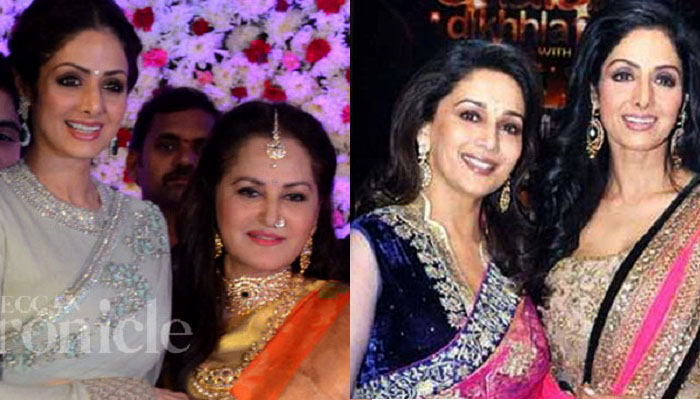 Sridevi and her professional rivalries with Jaya Prada and Madhuri Dixit