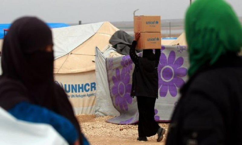 Syria conflict: Women 'sexually exploited in return for aid'