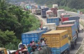 40-km tailback on Dhaka-Chittagong highway