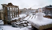 Icy Europe, balmy North Pole: the world upside down