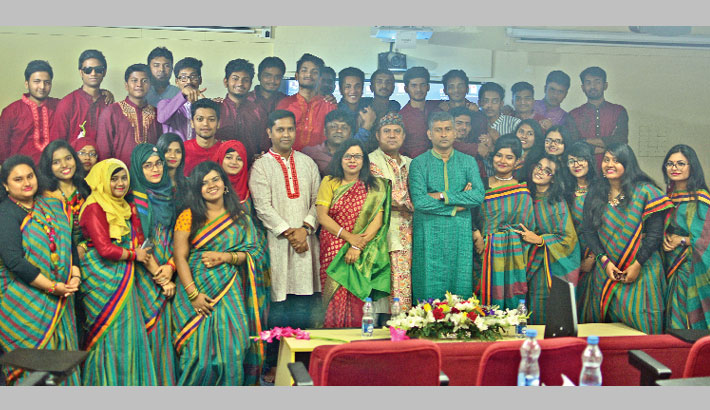 JnU IML welcomes 1st batch students