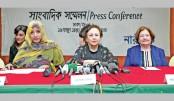 Female Nobel laureates met at press conference