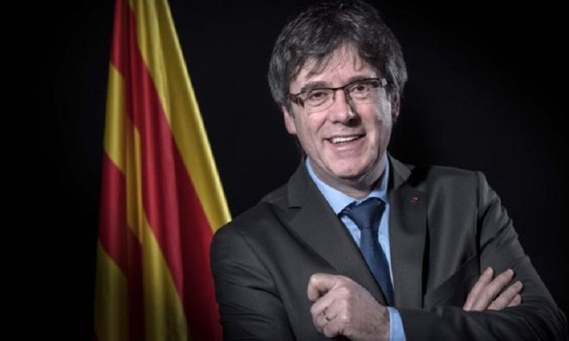 Puigdemont abandons Catalan presidency