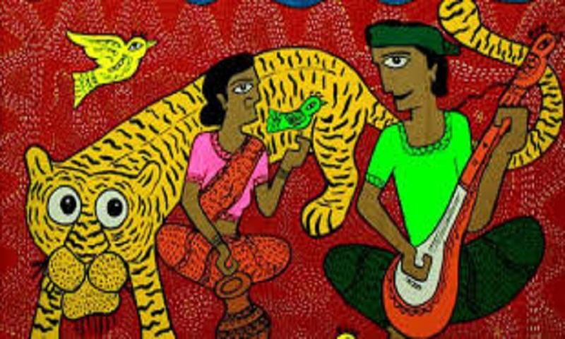 Pata Painting exhibition 'Chitra Pote Bangabandhu' begins