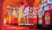Prophet towards non-Muslims