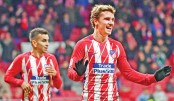Griezmann hits four as Atletico thrash Leganes