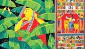 Pata Painting exhibition 'Chitra Pote Bangabandhu' begins today