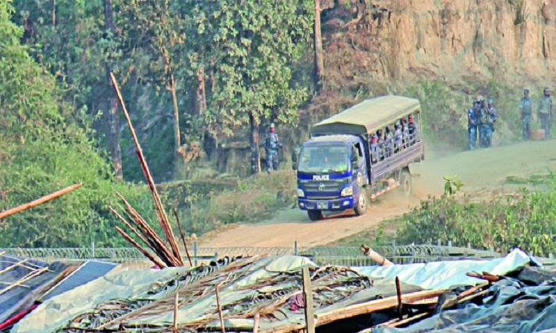 Rohingyas in grip of panic