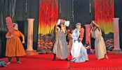 Annual drama at Scholastica