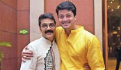Prosenjit, Jisshu come together for Mahalaya