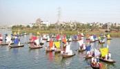 Boat rally held at Hatirjheel ahead of Nat'l Jute Day