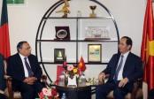 Foreign Minister meets Vietnam President