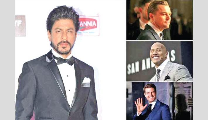 SRK beats DiCaprio, Dwayne, Tom to become the most-searched celeb on Wikipedia