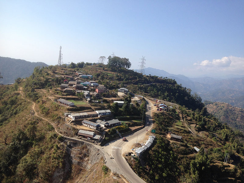 Sindhuli: In orange country