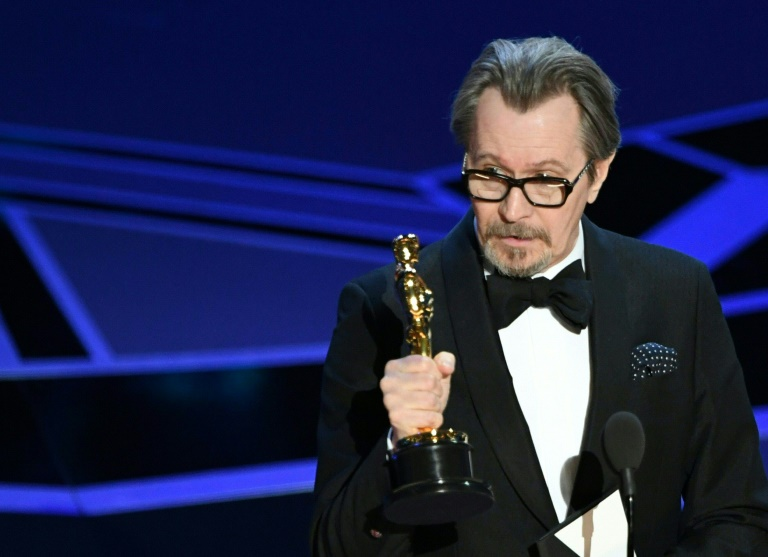 Gary Oldman wins best actor Oscar for 'Darkest Hour'