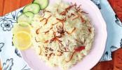 Plain Pulao As  A Main Dish