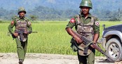 Myanmar Army takes position along border again
