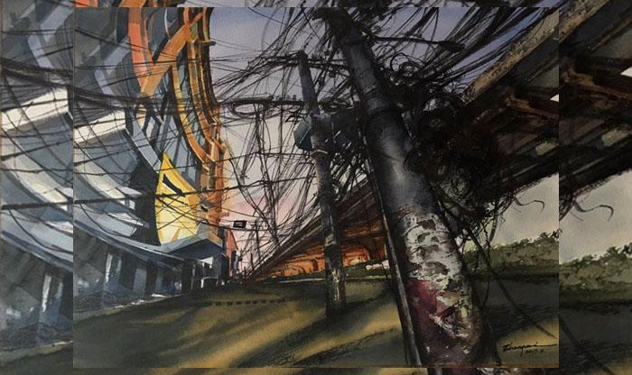 '1st international Watercolor Biennale 2018' begins Tuesday