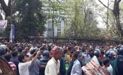BNP forms human chain demanding Khaleda's release from jail