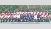 Bangladesh hockey team  off to Oman