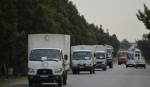 Aid convoy enters  Syria enclave
