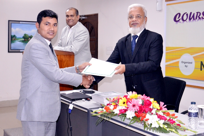 """Course on """"Credit Operation and Risk Management"""" held at National Bank Training Institute"""