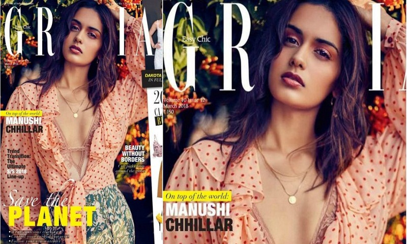 Manushi Chhillar's Grazia photoshoot earns wows