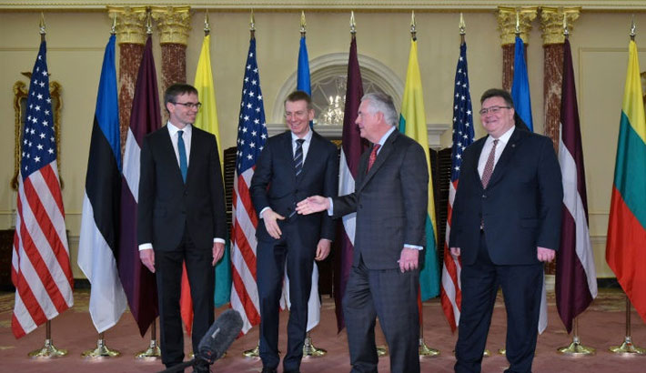 Baltic nations warn US not to underestimate Russia threat