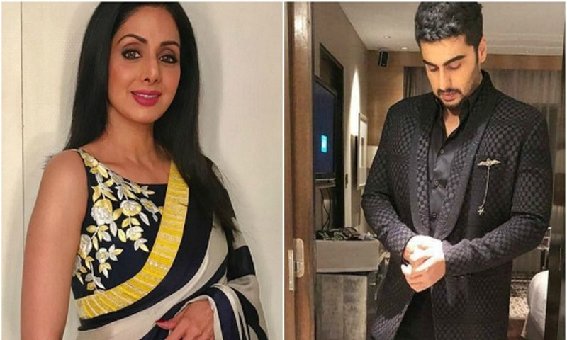 Arjun Kapoor breaks his silence on Sridevi's demise