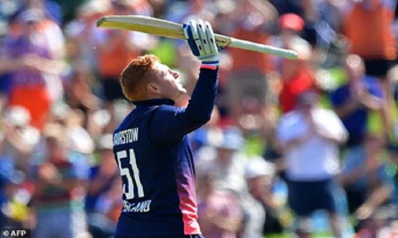 England 335 for nine in fourth New Zealand ODI