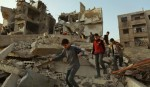 Fresh strikes hit Syrian Ghouta after aid convoy turns back