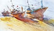 1st int'l Watercolour Biennale begins at BSA