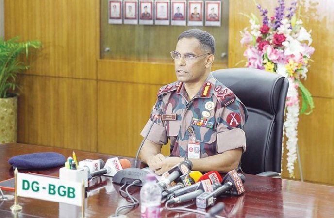 BGB Director General Abul Hossain withdrawn