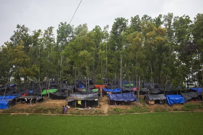 'Robber' killed in 'gunfight' at Rohingya camp