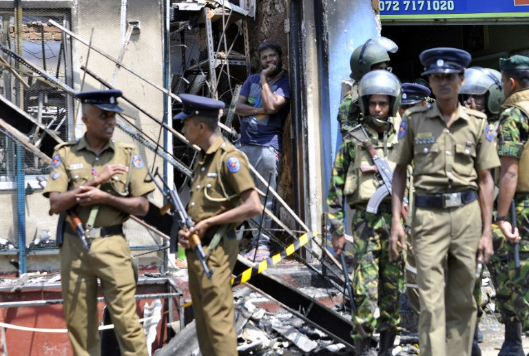 Mosque, shops attacked in anti-Muslim riots in Sri Lanka