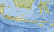 5.7-magnitude quake strikes off eastern Indonesia