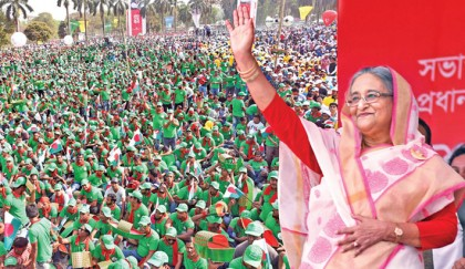 Stay alert so that looters can't come to power: PM