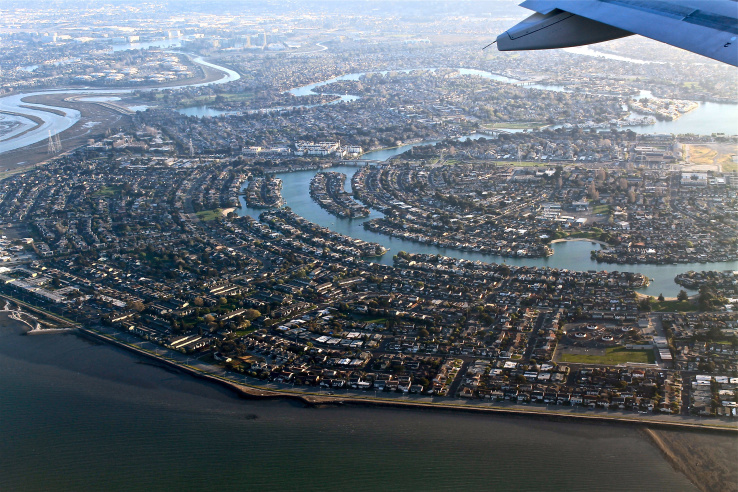 Land beneath Silicon Valley is sinking fast: study