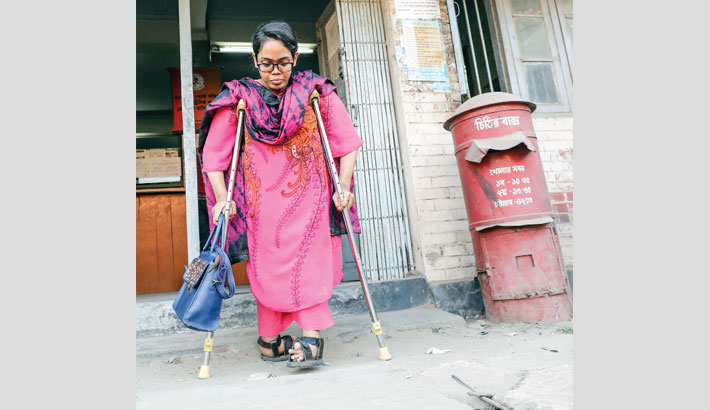 Disability couldn't stop Asma