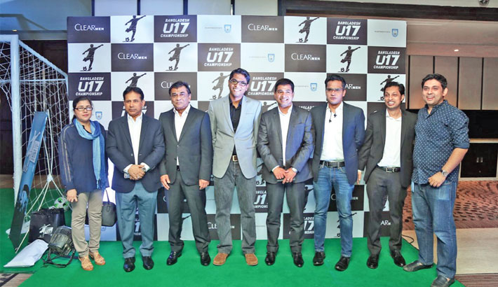Clear Men Bangladesh U-17 football from March 25