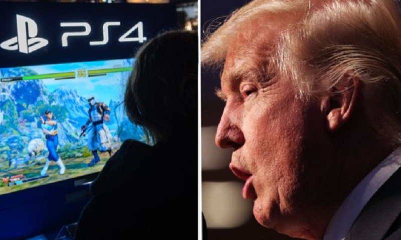 Trump holds games violence meeting