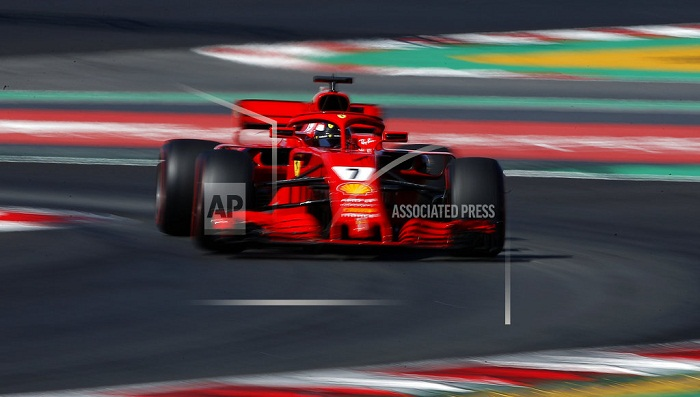 Ferrari fastest, Mercedes churns out miles in F1 tests