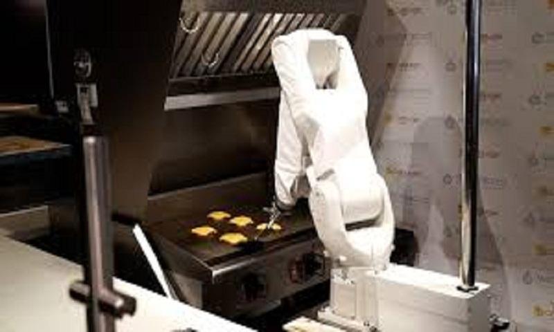 Burger-flipping robot taken offline after one day