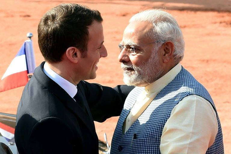 Modi, Macron sign key security deal with an eye on China