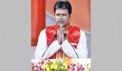 Biplab Kumar Deb takes oath as Tripura CM