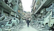Fresh shelling puts aid delivery at risk in Syrian Ghouta